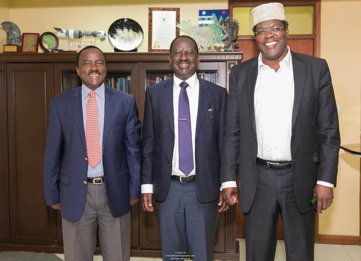 Raila is begging for power instead of taking it from Uhuru- Miguna Miguna