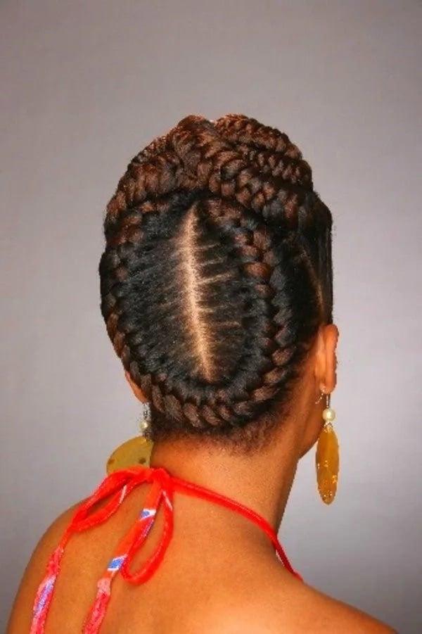 20 Best Cornrow Braid Hairstyles For Black Women With An Updo Tuko Co Ke