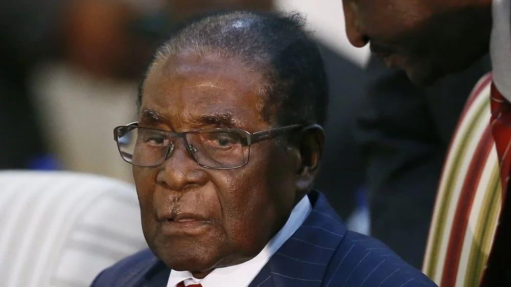 End of an era! Mugabe sacked as ZANU-PF leader alongside wife, Grace
