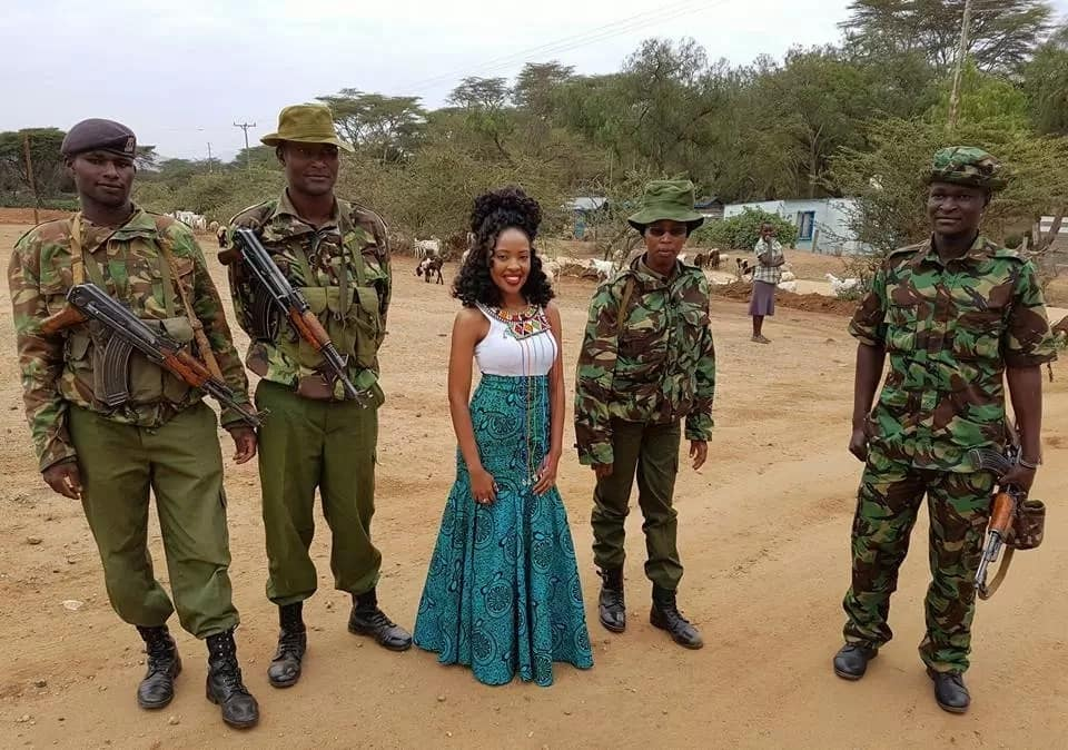 Gospel Singer Kambua is a true church girl and her style obeys that
