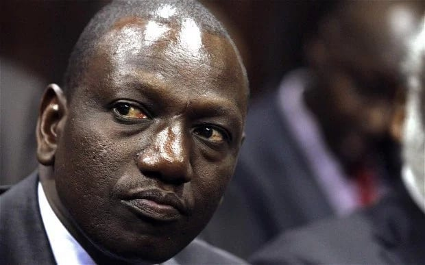 William Ruto WARNING