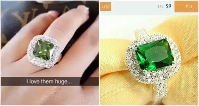 Diamond Platinumz asutwa kwa kumnunulia mkewe pete rejareja