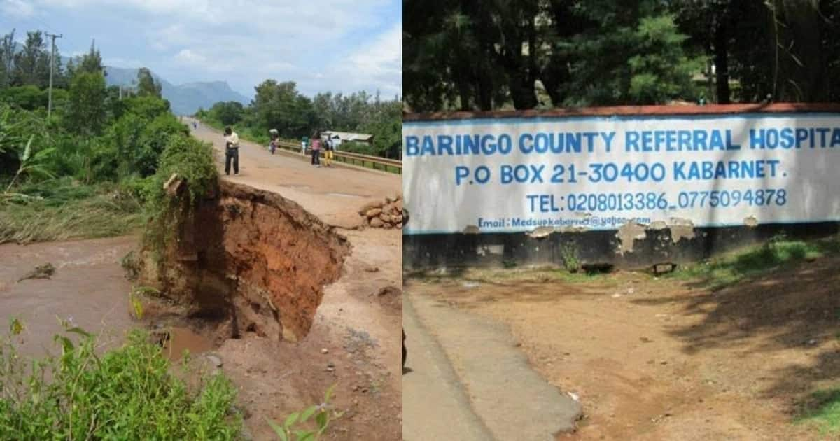 Three children buried alive in Baringo after loose river walls cave in