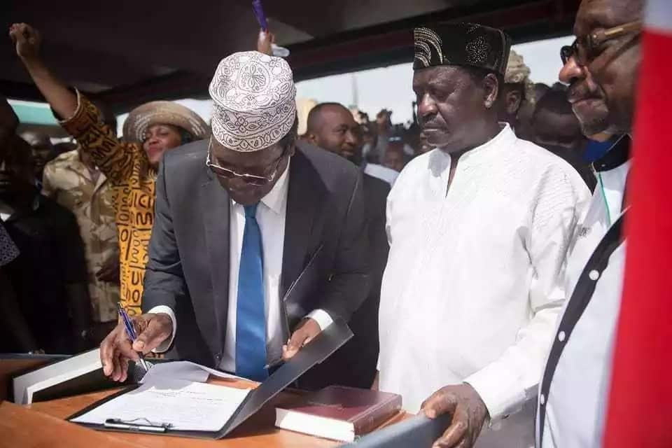 Why did Raila Odinga agree to a swearing-in that only embarrassed him?