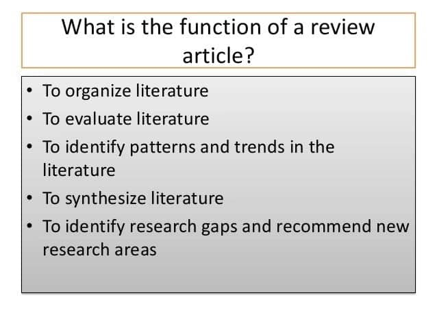 Article review example Article review sample How to review an article Sample article review