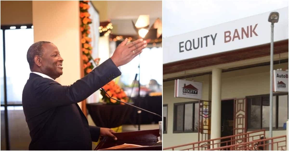 Equity Bank CEO James Mwangi.