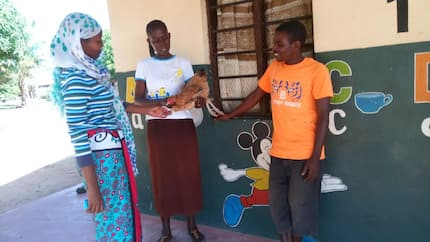 School where CHICKENS are used to pay school fees (photos)