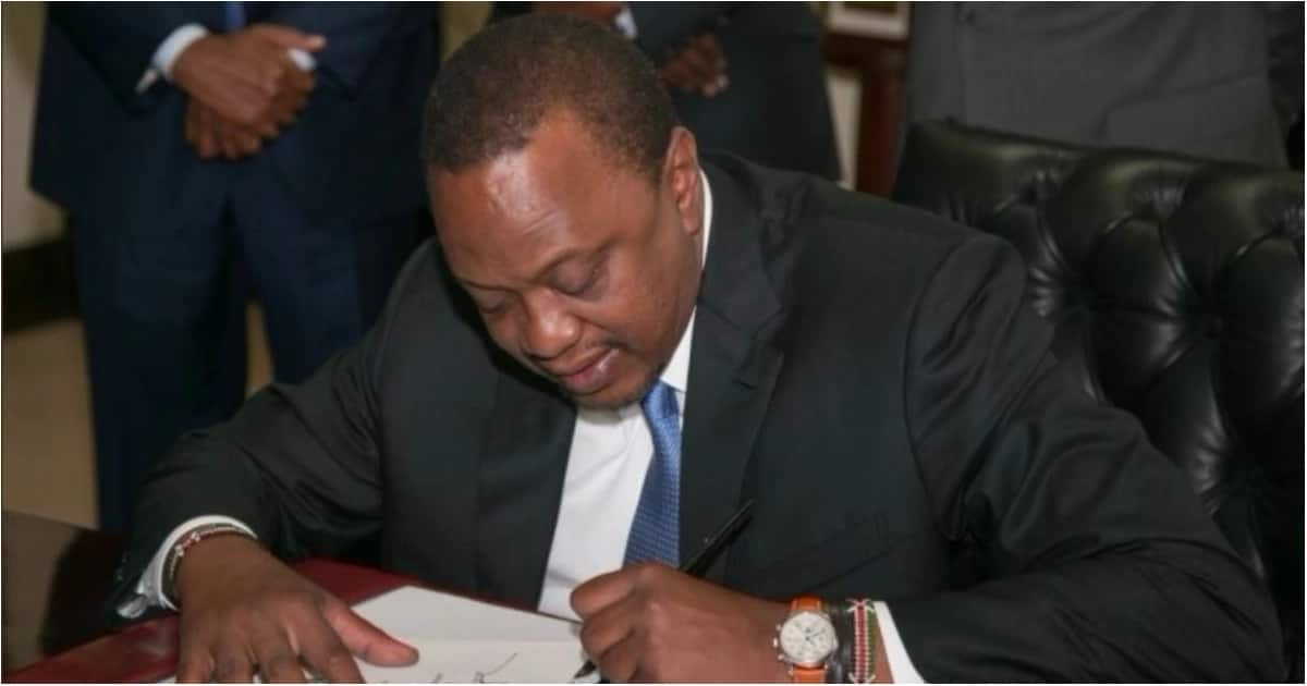 President Uhuru Kenyatta on Wednesday, May 16, signed into law the Computer and Cyber-Crime Bill 2018.