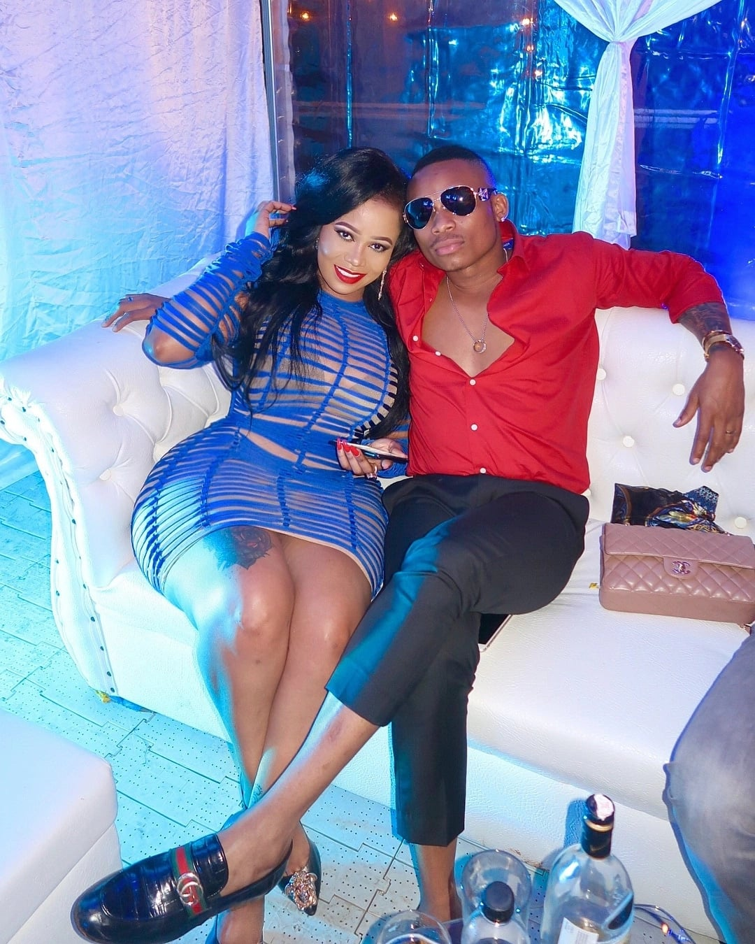 Singer Otile Brown gives strong hint his new catch Vera Sidika could be pregnant