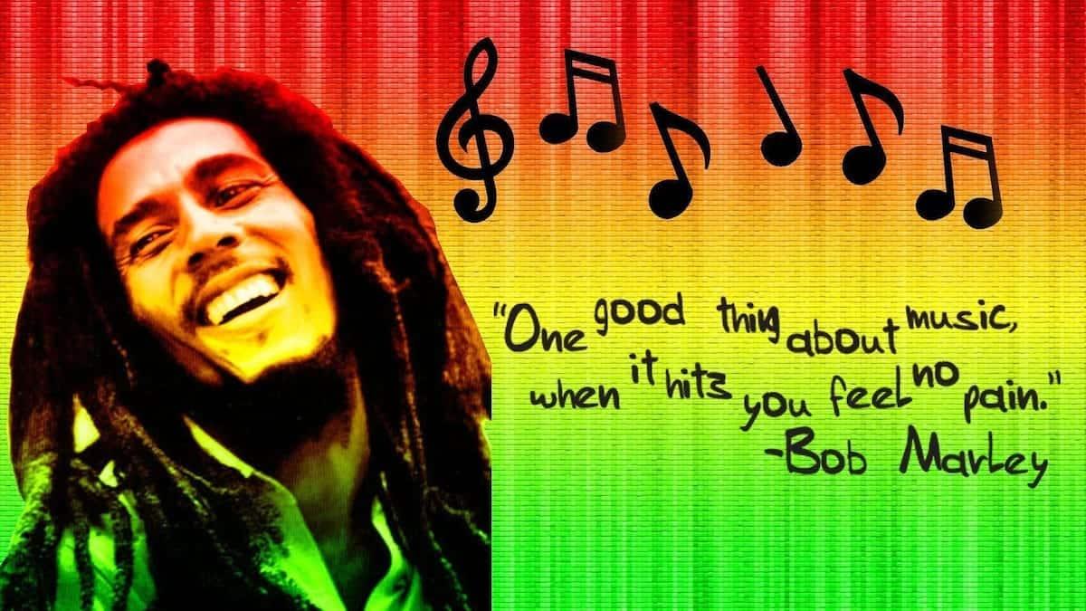 Reggae music quotes Quotes on music Best music quotes