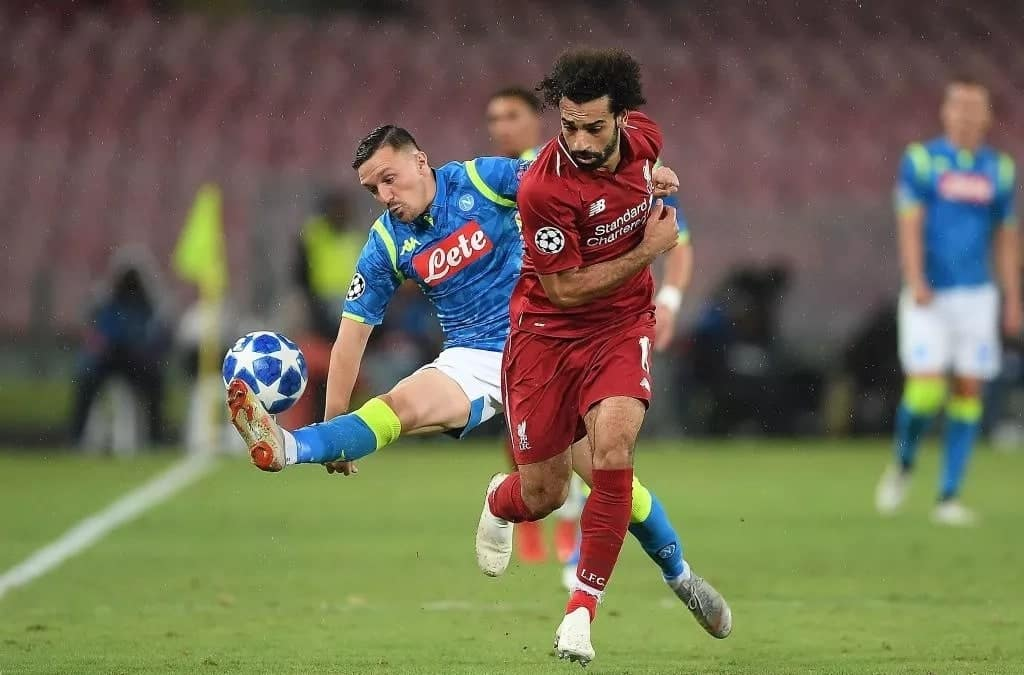 Napoli defeat Liverpool 1-0 in mouthwatering Champions League clash
