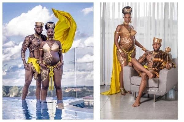 Wachumba wafurahisha kwa kupigwa picha za uja uzito kwa kujifananisha na Wakanda