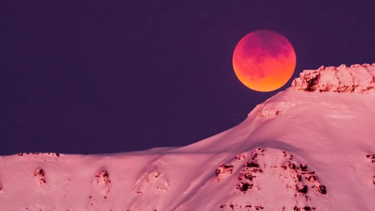 Lunar eclipse in Kenya 2018