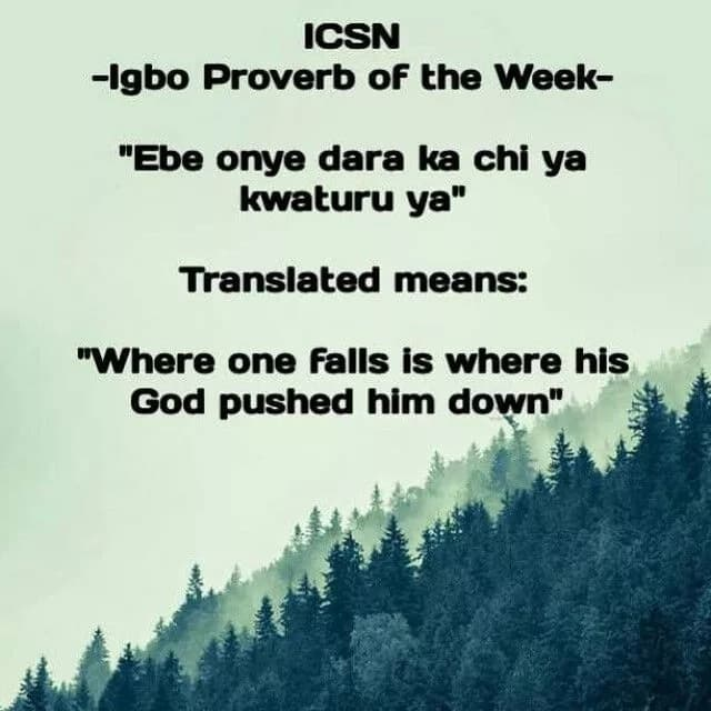 Wise Nigerian proverbs and their meaning