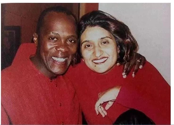 Jeff Koinange and his wife