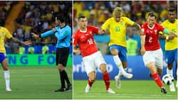 Brazil forward Neymar says referee should have ruled out Switzerland's equalizer