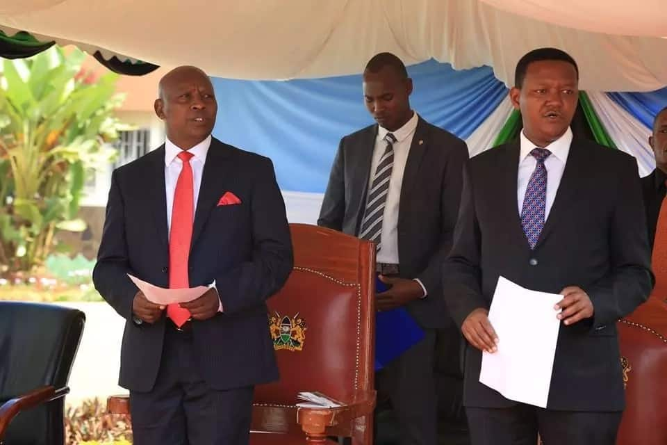 Machakos Governor Alfred Mutua asked to vie the presidency in 2022