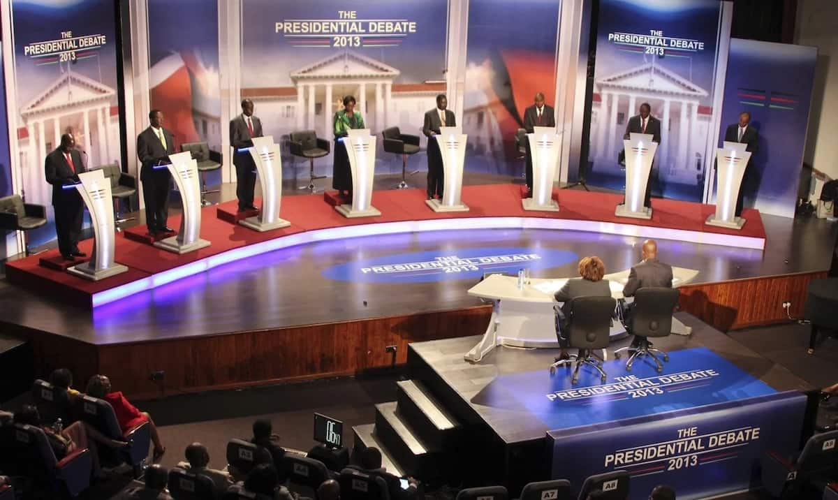 The millions of Kenyans Uhuru missed but Raila reached during the live presidential debate