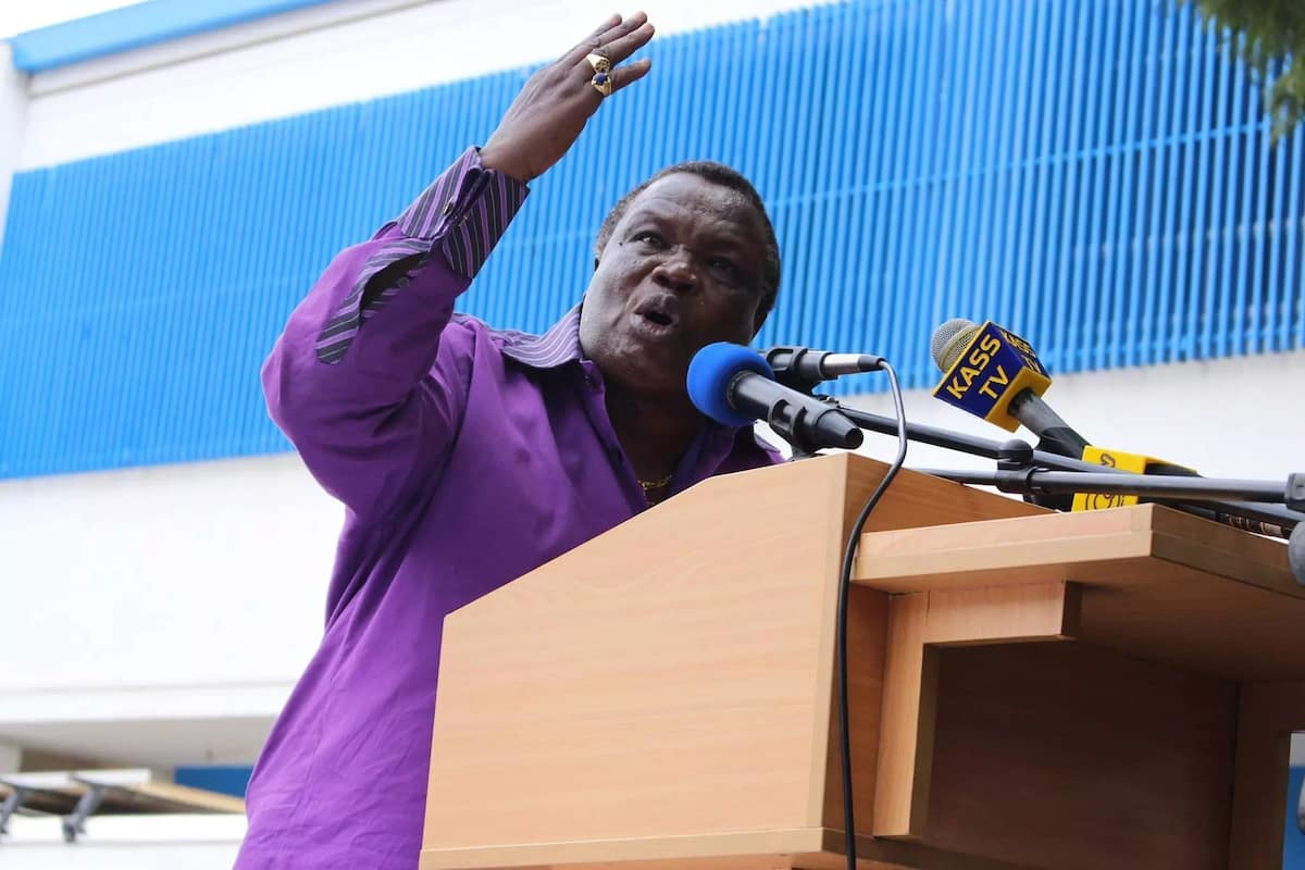You are no longer speak for the Luhya community - Atwoli to Mudavadi