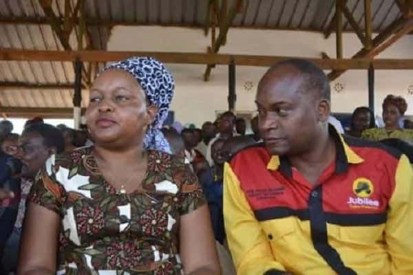 I've forgiven him - Kirinyaga deputy governor's wife finally speaks after he was caught in bed with another woman