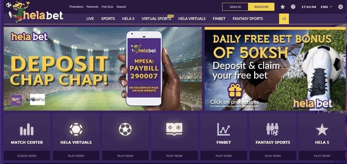 Hela Bet Kenya - one of the best betting companies in Kenya!