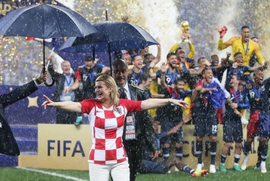 7 ways croatian president Kolinda Grabar-Kitarovic won hearts at the world cup