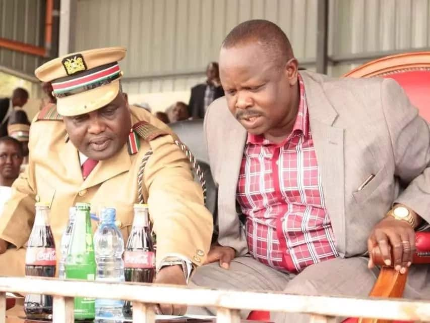 Bomet county commisioner transfered after clash with Ruto