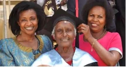 Meet 80-year-old grandma who graduated with Masters from St. Paul's university