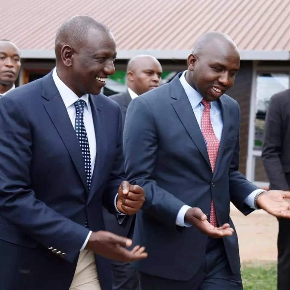 Moses Kuria claims there is a secret plan by some Jubilee top dogs to destroy Ruto