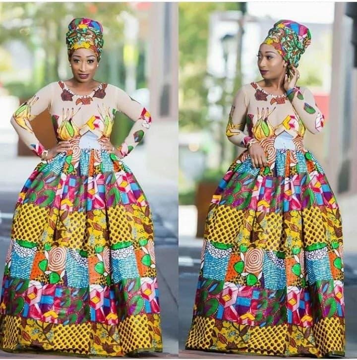 Trendy ankara wedding styles for ladies 2018