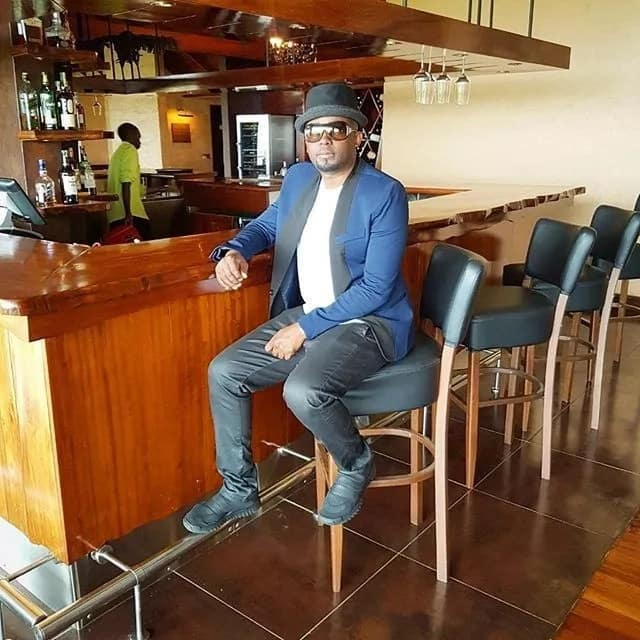 X super hot photos of former Nairobi Diaries actor Brayo rocking caps like a pro