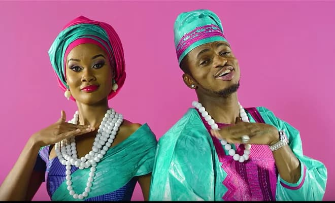 Diamond's mpango wa kando reveals they have been dating for 9 years and planned for the baby