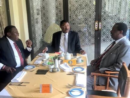 CS Wamalwa, Wetangula and Mudavadi call on Uhuru to establish sugar scandal commission outside Parliament