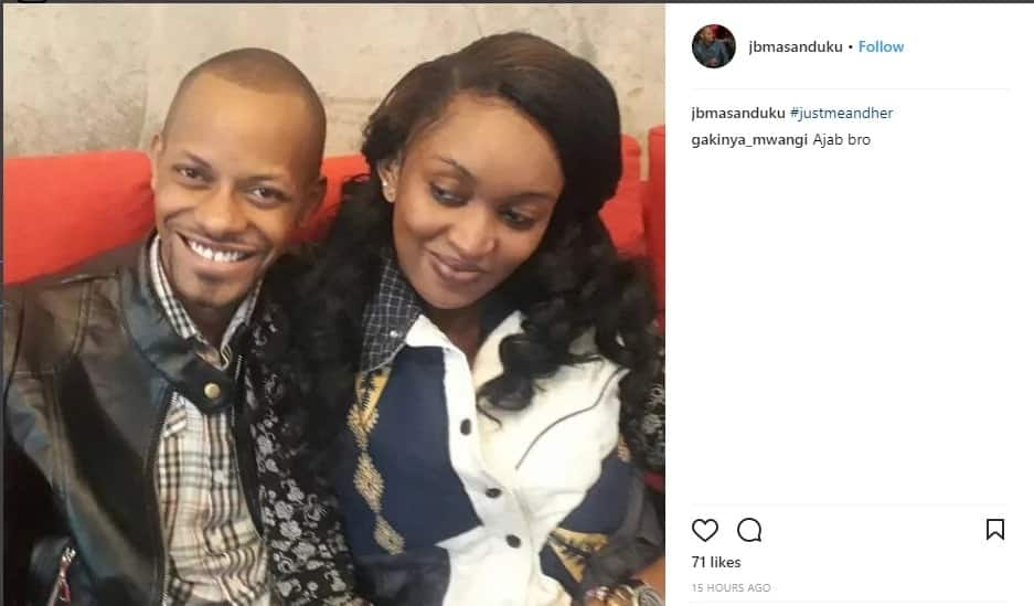 JB Masanduku unveils new catch after dramatic fall out with Tina Kagia