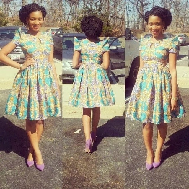 kitenge designs for short dresses
