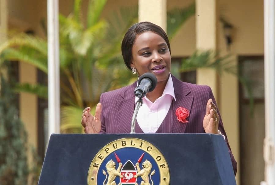 State House spokesperson Kanze Dena outlines Uhuru's Mashujaa Day celebrations in Kakamega