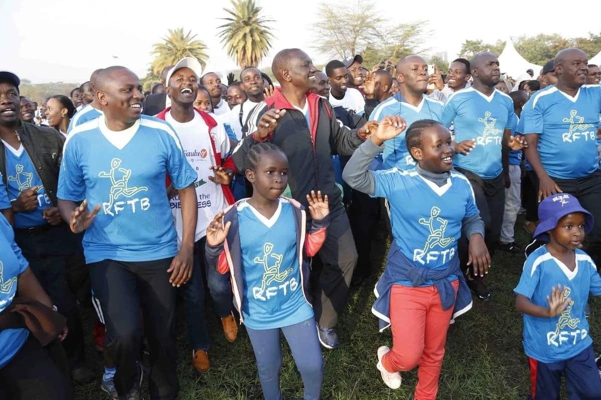 William Ruto acheza 'Odi Dance' na inachekesha