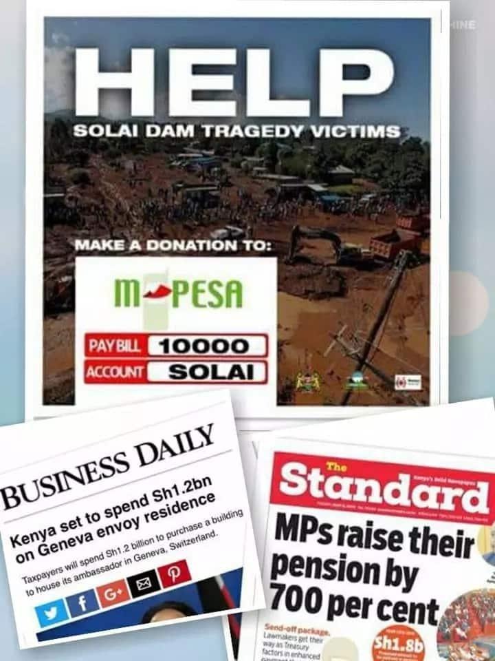 Duale's ex-lover Nazlin Umar slams government over fundraiser for Solai dam victims