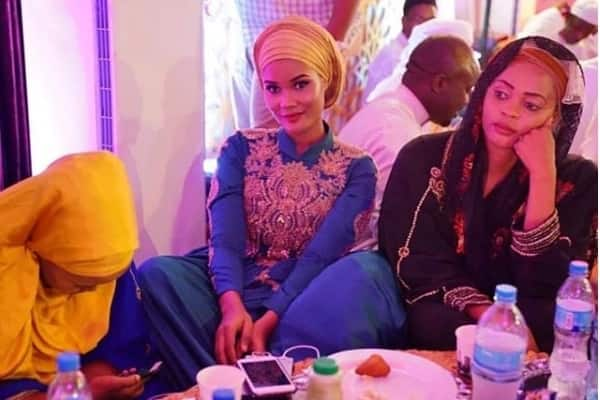 Two of Diamond Platnumz's most notable ex-lovers battle to catch his attention at singer's Ramadhan party