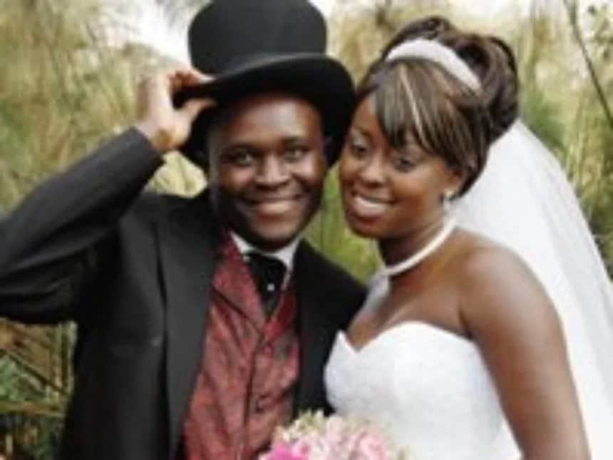 Lilian Muli Kanene wedding photo