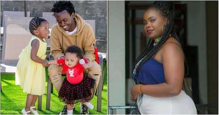 Mwanamuziki maarufu Kevin Bahati afichua kwamba alifanya kipimo cha DNA kwa mmoja wa watoto wake