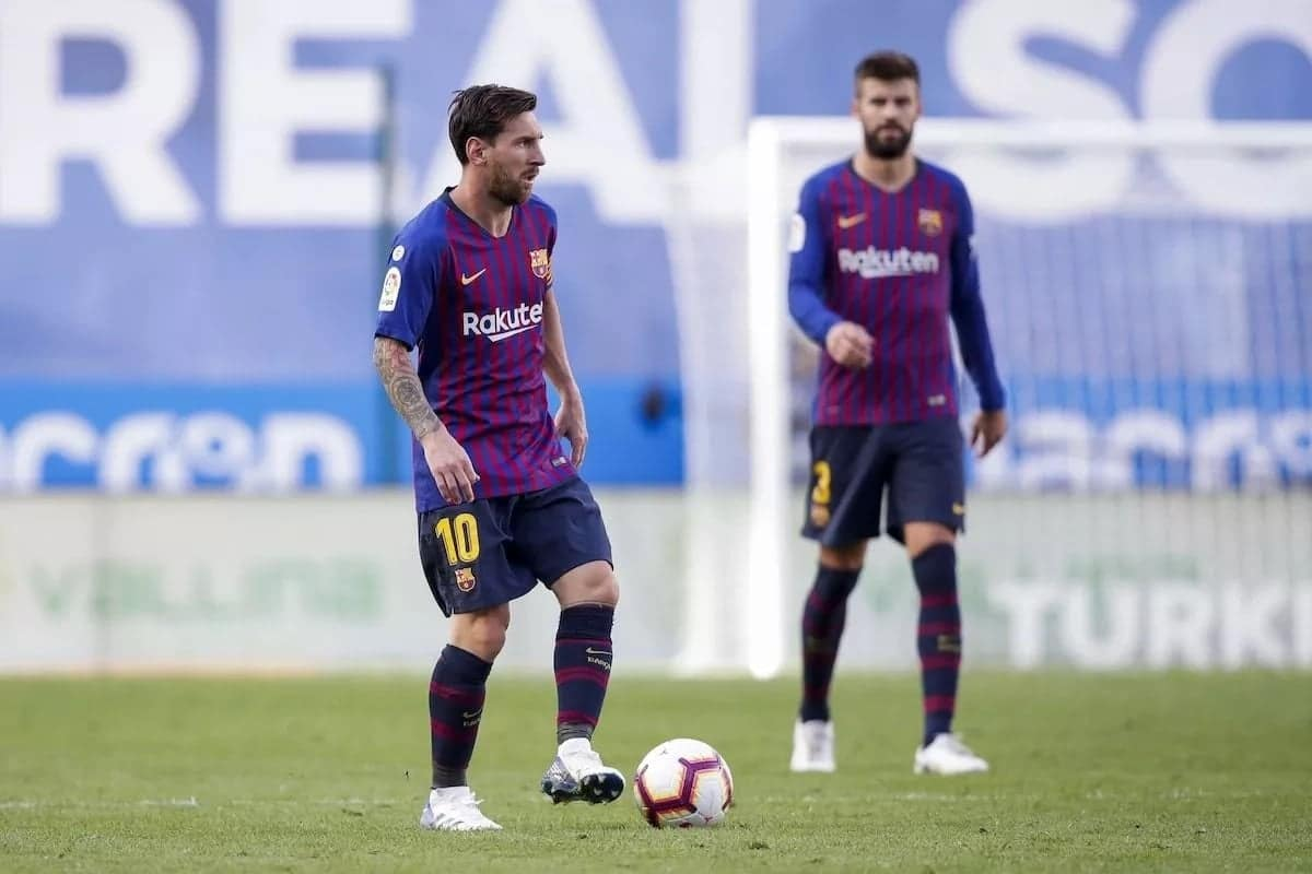 Messi's relationship with Gerard Pique at Barcelona breakdown