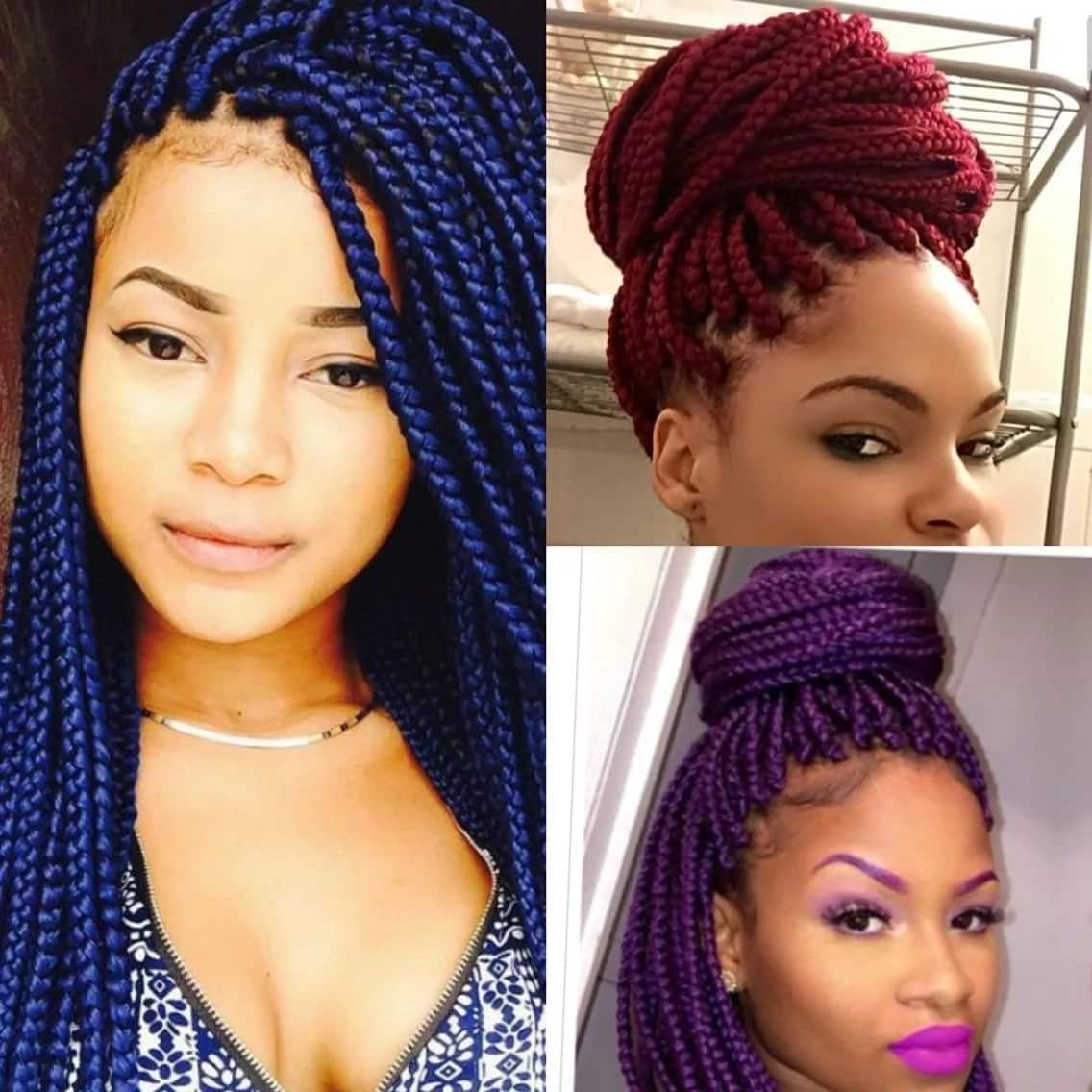 Latest African Hairstyles Braids 2019 Tuko Co Ke