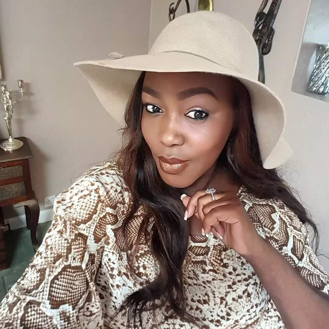 Ex-Citizen TV screen siren Terryanne Chebet steps out with her daughter for the first time