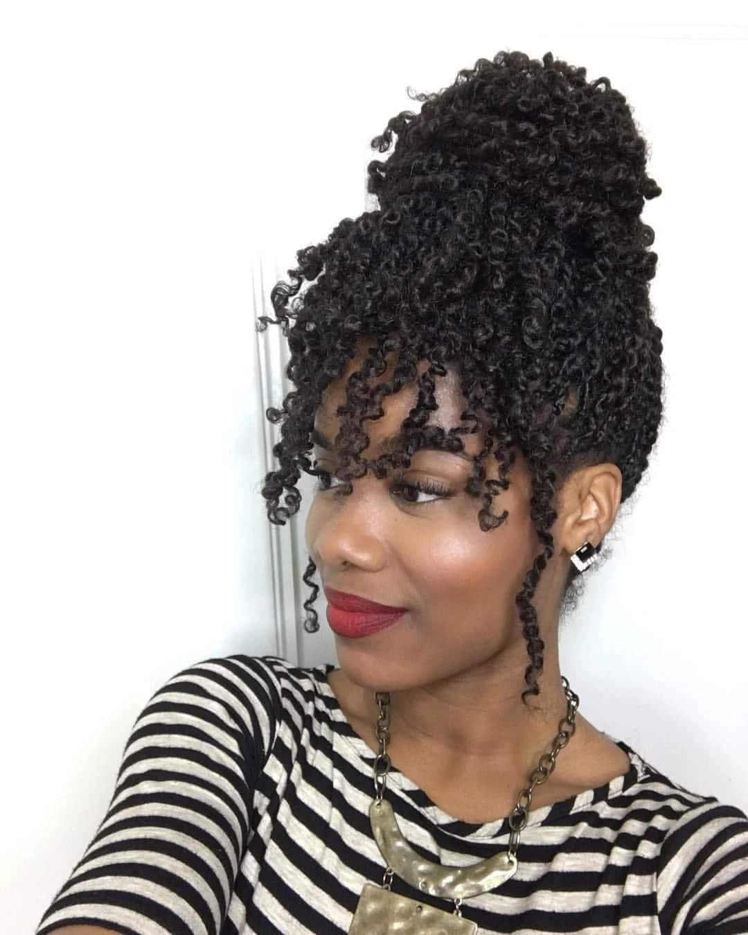 How to twist Afro kinky hair