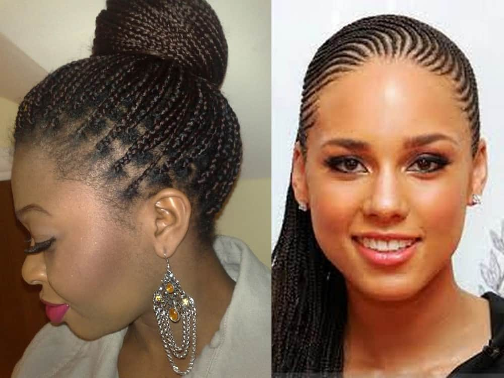 Latest Ghanaian Lines Hairstyles