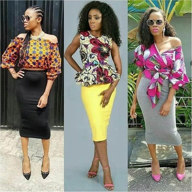 Latest Nigerian Ankara designs 2018