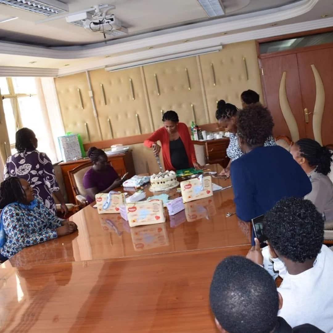Aliyekuwa mtangazaji wa KTN, Joy Doreen aandaa sherehe za kumtaraji mtoto, ilipendeza (Picha)