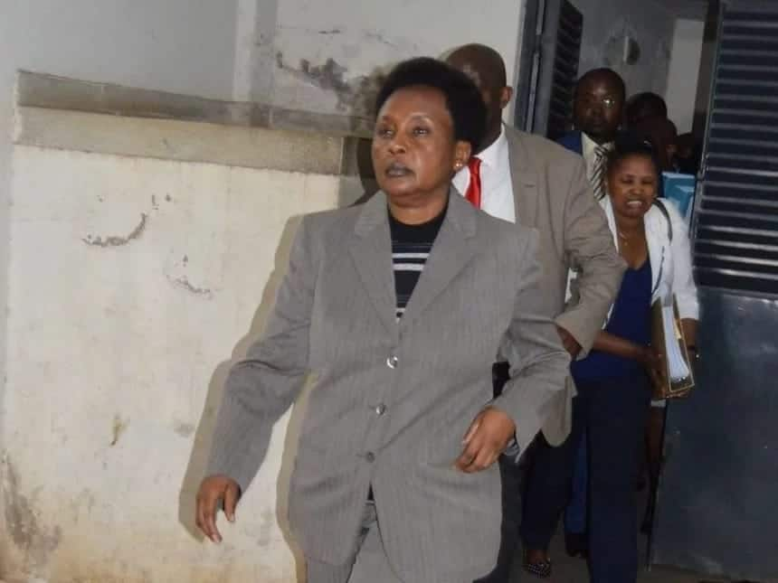 X way in which Deputy Chief Justice Philomena Mwilu can be kicked out of office