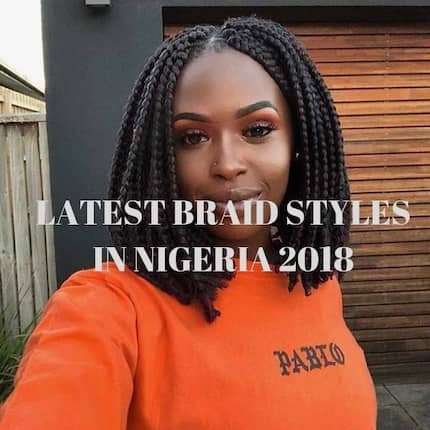 Latest braid styles in Nigeria 2018